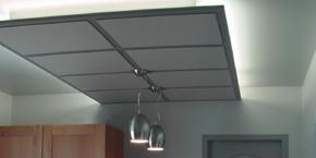 Plafond abaissé cuisine