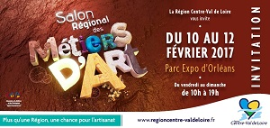 affiche salon metiers d'art